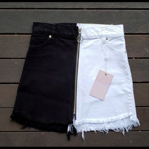 Ying-yang Revice skirt